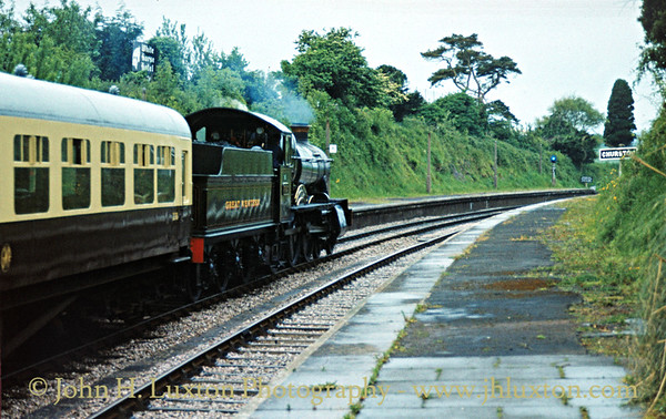 Dart Valley Railway - Torbay and Dartmouth Railway - May 30, 1983