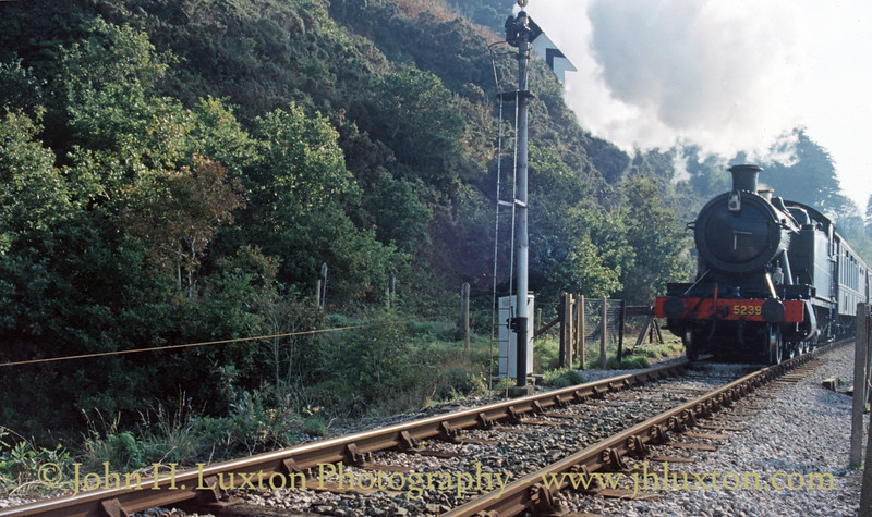 Dart Valley Railway - Torbay and Dartmouth Railway - October 25, 1987