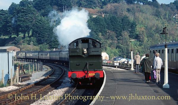 Dart Valley Railway - Torbay and Dartmouth Railway - October 25, 1987