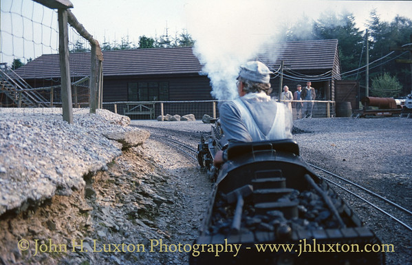 The Forest Railroad, Dobwalls, Cornwall - September 12, 1986