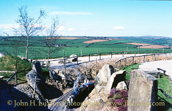The Forest Railroad, Dobwalls, Cornwall - May 16, 1986
