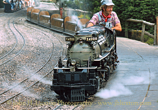 The Forest Railroad, Dobwalls, Cornwall - June 16, 1983