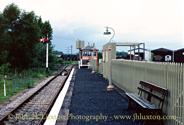 Great Western Society - Didcot Railway Centre - June  26, 1982