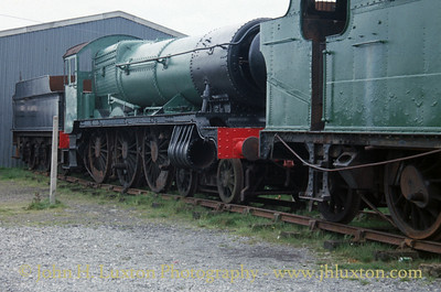 Great Western Railway - Bickmarsh Hall 5967 - 1989