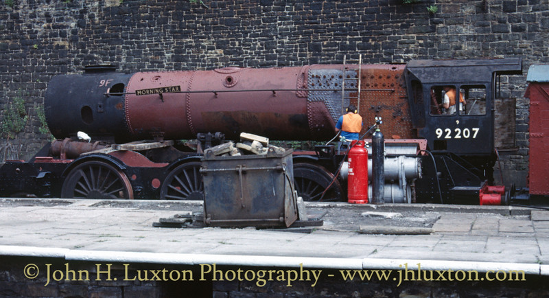 British Railways Western Region - 92207 - Morning Star - July 23, 1989