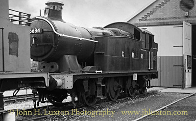Great Western Railway 56XX 6634 at Cranmore - 1983