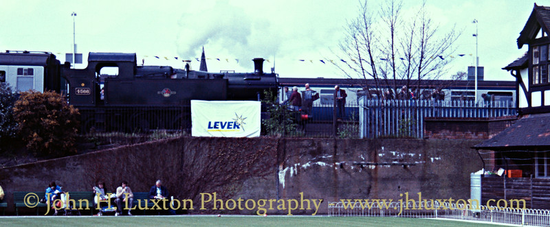 Great Western Railway 45xx 4566 at Port Sunlight - 1988