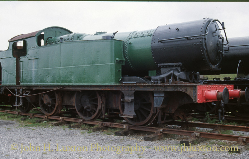 GWR 56xx Class - believed to be 6686 at the Pontypool & Blaenavon Railway - June 03, 1989