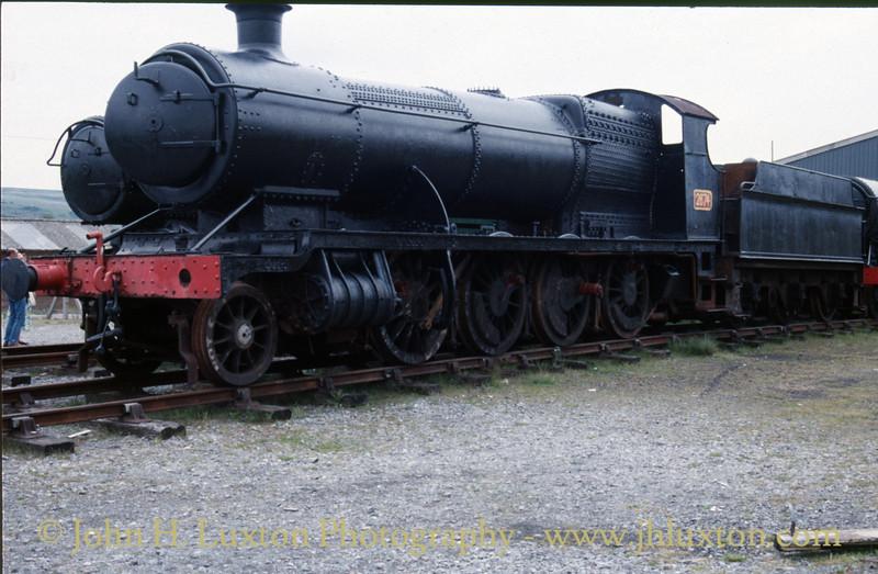 Great Western Railway 2874 at the Pontypool & Blaenavon Railway - June 03, 1989