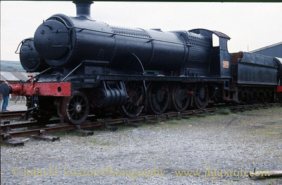 Great Western Railway 2874 at the Pontypool & Blaenavon Railway - June 03, 1989