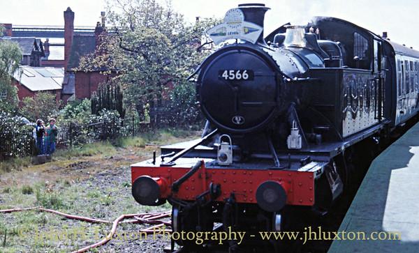 Great Western Railway 45xx 4566 at Port Sunlight - 1988