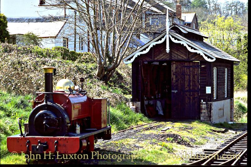 Launceston Steam Railway - April 1995