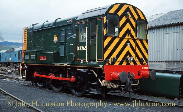 Llangollen Railway - April 1989
