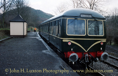 Llangollen Railway - December 1990