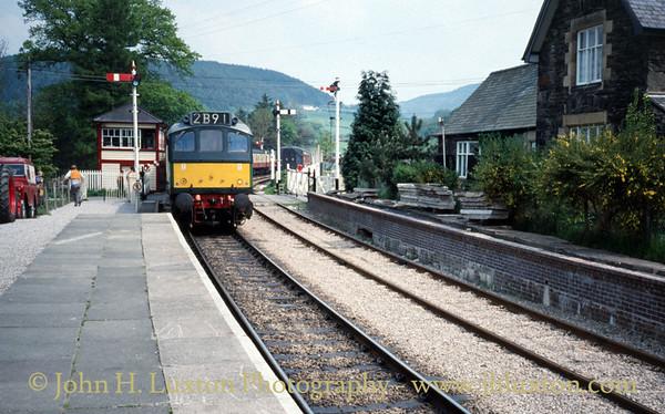Llangollen Railway - April 1994