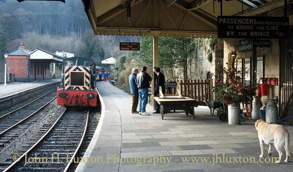 Llangollen Railway - December 1991