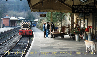 Llangollen Railway - December 1991