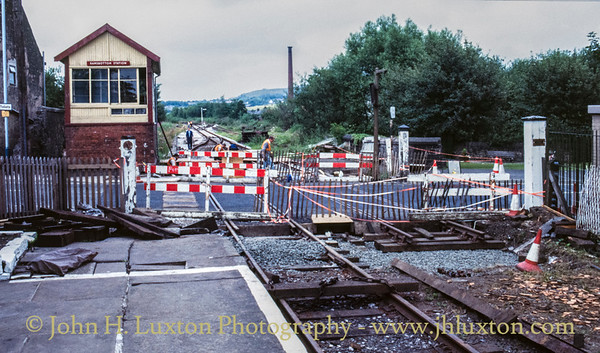Ramsbottom Station, Lancashire - July 16, 1989