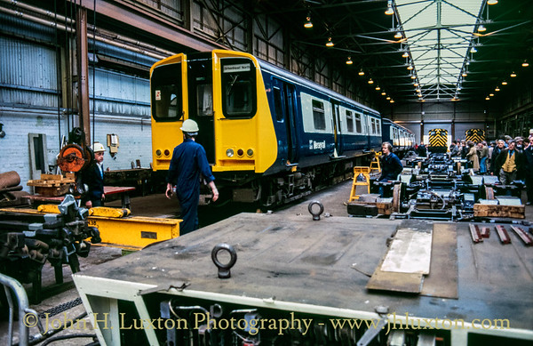 Birkenhead North TMD, Birkenhead, Wirral - April 01, 1986