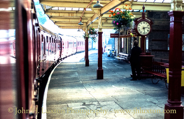 Keighley Station, Yorkshire - September 28, 1982