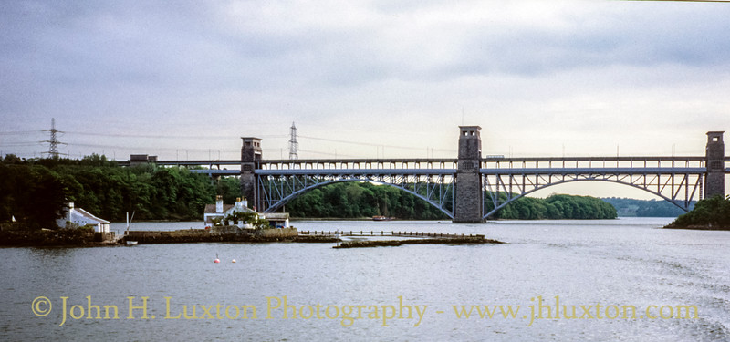 Britannia Bridge, Anglesey, Wales - May 1994