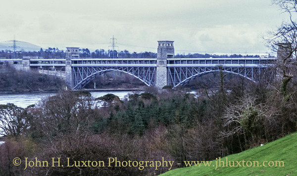 Britannia Bridge, Anglesey, Wales - April 04, 1983