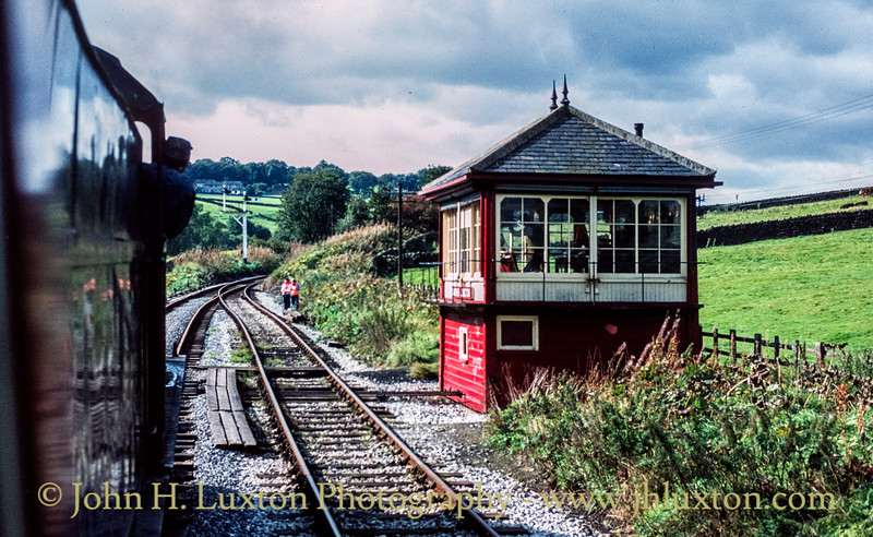 Damems Junction - Keighley and Worth Valley Railway - September 28, 1982