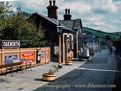Oakworth Station, Keighley and Worth Valley Railway, Yorkshire -  September 28, 1982