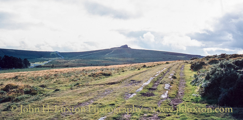 Haytor Granite Tramway, Dartmoor, Devon - September 06, 1982