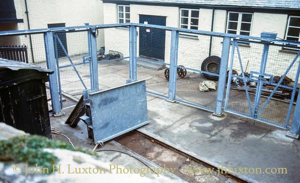 St Michael's Mount Tramway, Marazion, Cornwall - October 27, 1988