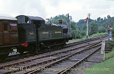 Severn Valley Railway - August 23, 1987