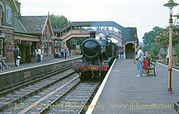 Severn Valley Railway - August 31, 1987