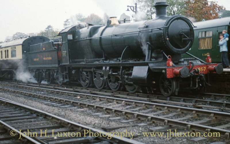 Severn Valley Railway - October 15, 1988
