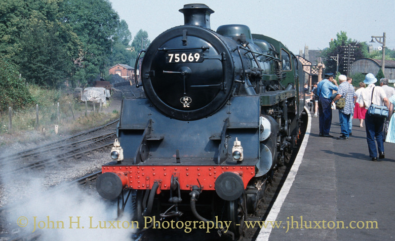 Severn Valley Railway - July 25, 1989