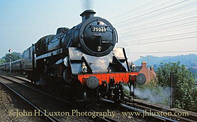 Severn Valley Railway - July 25, 1989