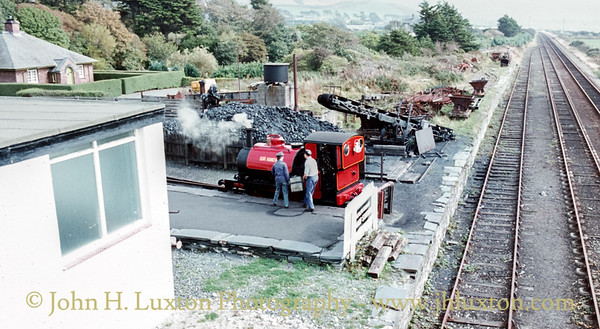 Talyllyn Railway - September 13, 1982