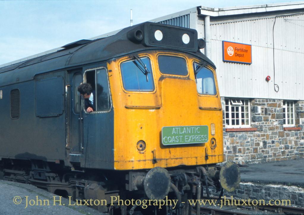 Torrington Station - October 1979