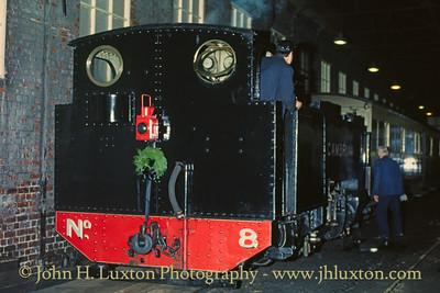 The Vale of Rheidol Railway - November 04, 1988