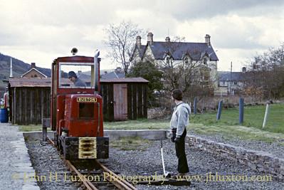 Welsh Highland Railway - April 04, 1983