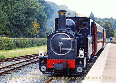 The Welshpool and Llanfair Railway, October 02, 1988