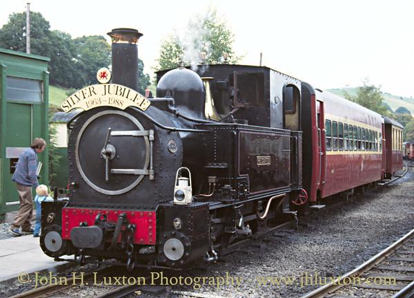 The Welshpool and Llanfair Railway, October 02, 1988
