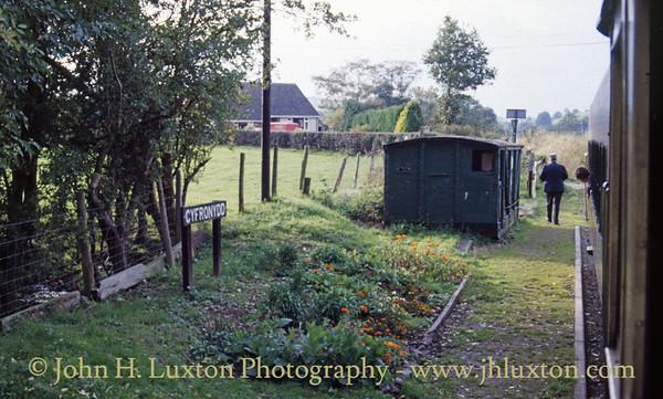 The Welshpool and Llanfair Railway - October 04, 1982