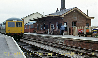 The West Somerset Railway - April 09, 1988