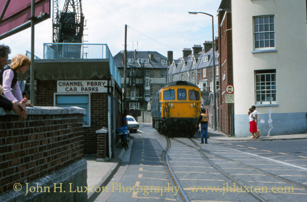 The Weymouth Quay Tramway