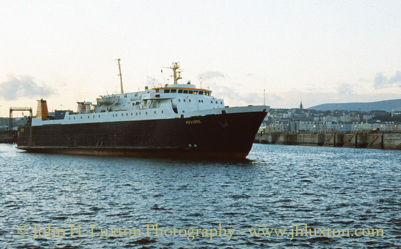 Isle of Man Steam Packet Company - Sea Containers 1997