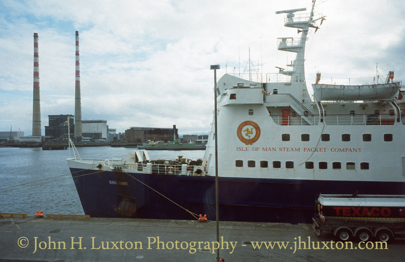 Isle of Man Steam Packet - Sea Containers 1998