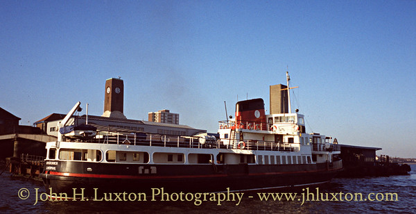The Mersey Ferries in the 1990s