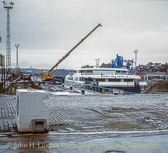 STENA SEA LYNX II, Canada Dry Dock, Liverpool - February 1995
