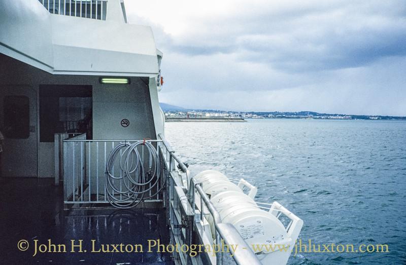 STENA SEA LYNX II, on board - August 1994