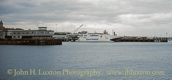 STENA SEA LYNX II at Dún Laoghaire - August 1994